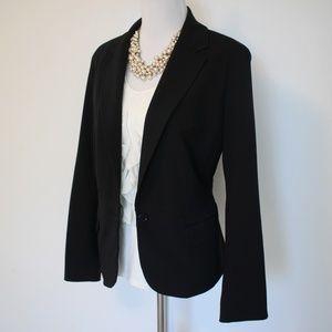 NEW YORK & CO Size 14 Black Suit Jacket Blazer